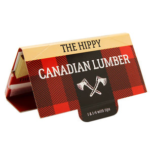 Canadian Lumber rolling papers w/tips