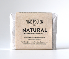 Pine pollen infused natural Soap
