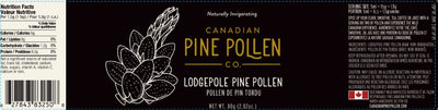 Lodgepole Pine Pollen Powder - 30g