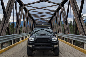 "50"" LIGHTBAR BRACKETS FOR MODULAR ROOF RACKS - RA Motorsports"