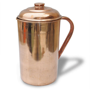 2 Pure Copper Pitcher