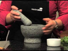 Mortar and Pestle Unpolished Granite 6 Inch