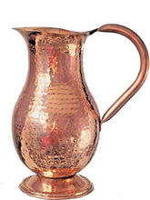 Pure Copper Jug (in/ out) Copper Pitcher 50 oz Ayurveda Yoga Health
