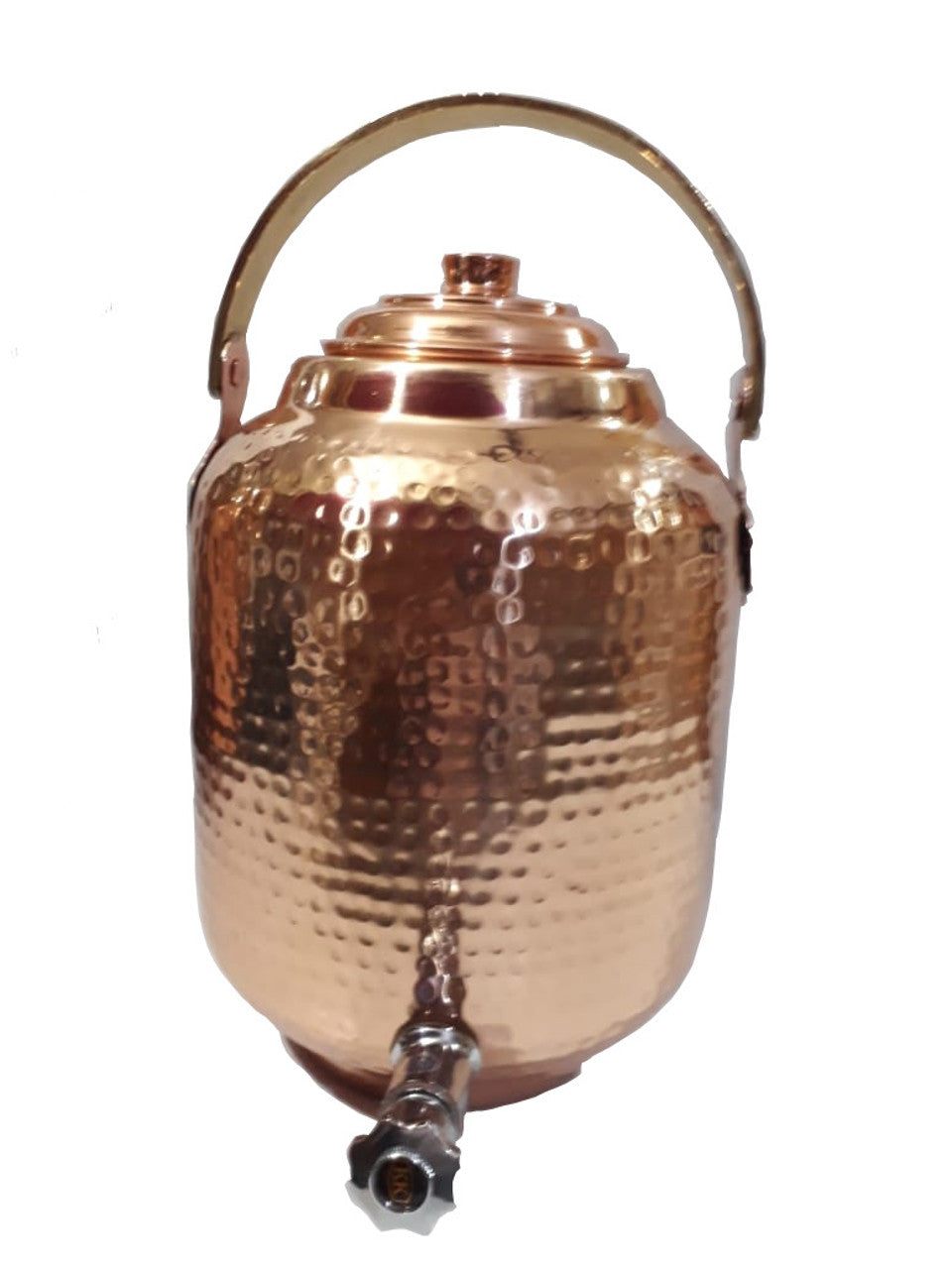 Copper Water Dispenser Seamless 1.7 gal 6.5 Ltr 218 oz Pot Storage Tank With Tap Kitchen Benefit Yoga Home Hotel