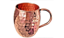 4 Moscow Mule Copper Mug w/ Copper Handle (In & Out) 18oz