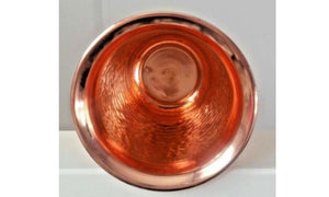 hammered pure copper glasses
