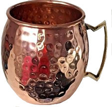 2 Moscow Mule Copper Mugs 18 oz