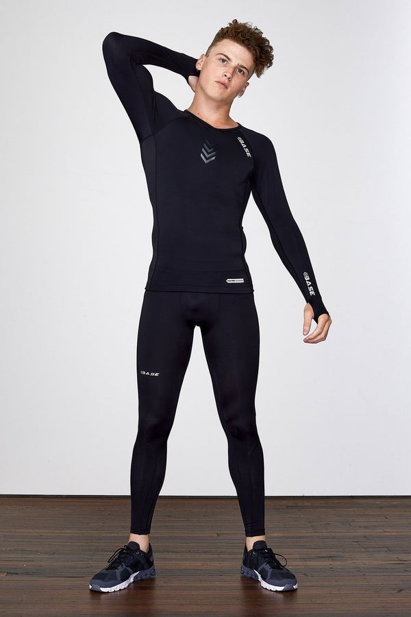 BASE Men's Long Sleeve Compression Tee