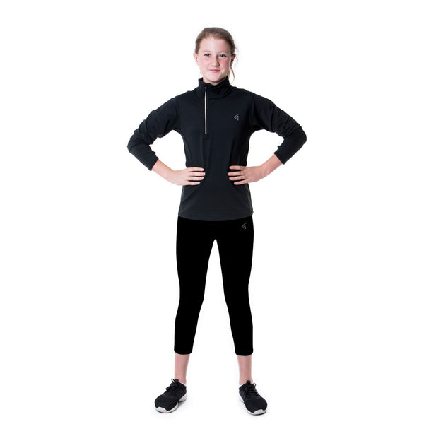LOKA Athletica 1/4 Zip Performance Top - CitySportOnline