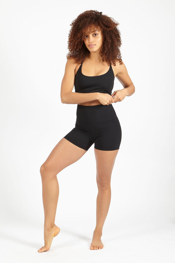 Beyound Basic Plain Supplex Shorts