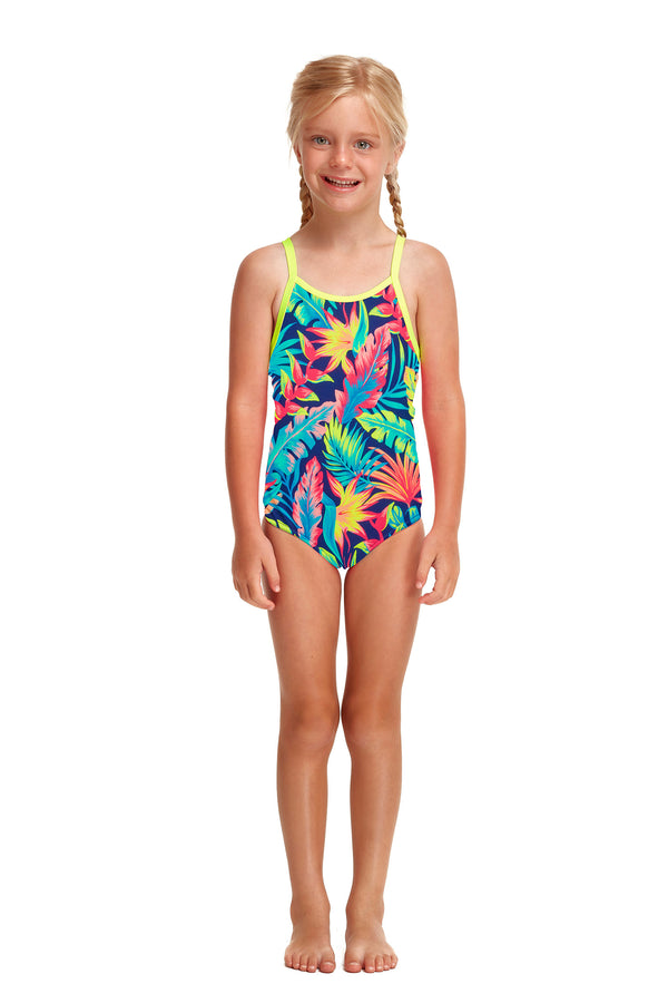 Toddler Girl's Palm Off Eco One Piece
