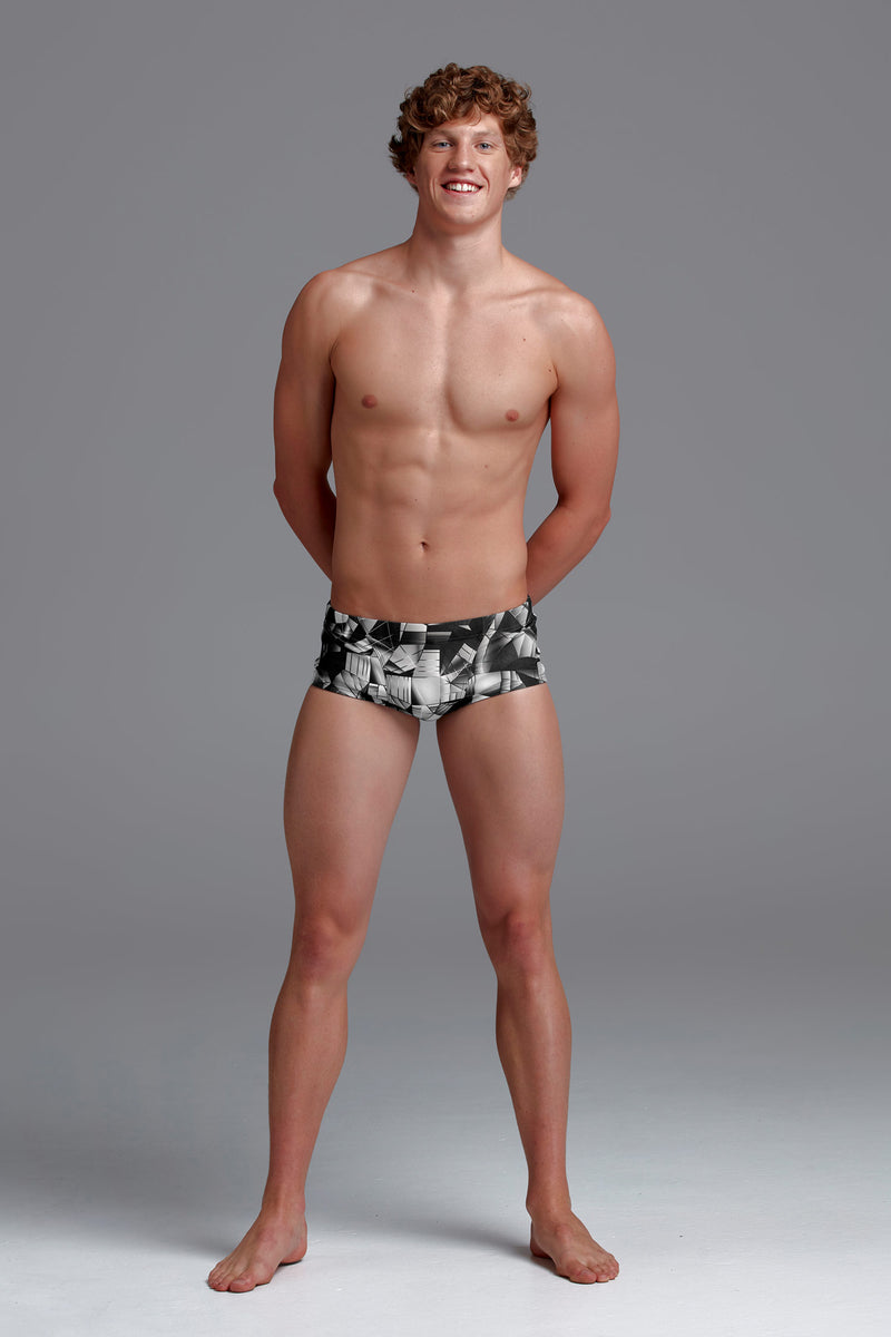 Men's Classic Trunks Black Tint