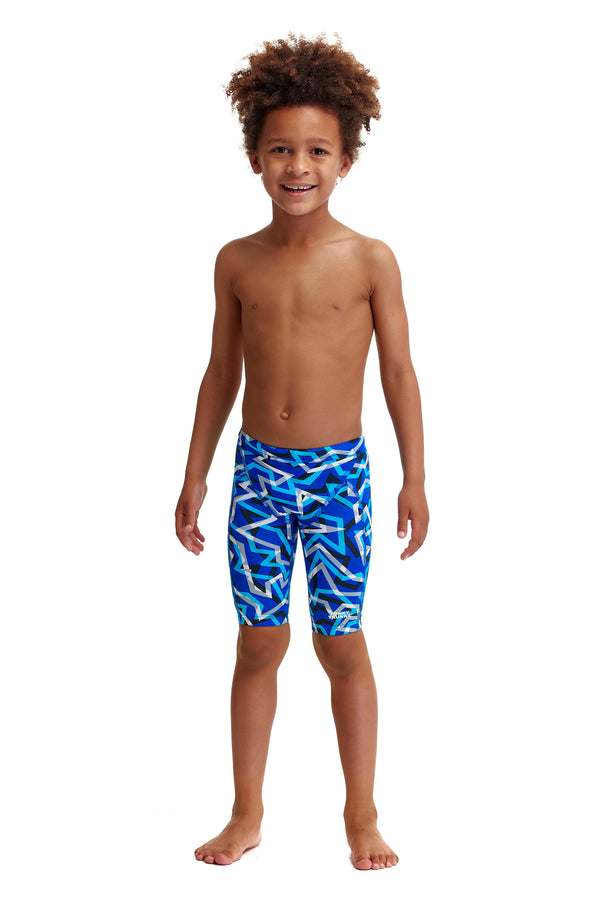 Toddler Boy's Miniman Jammers Ticker Tape