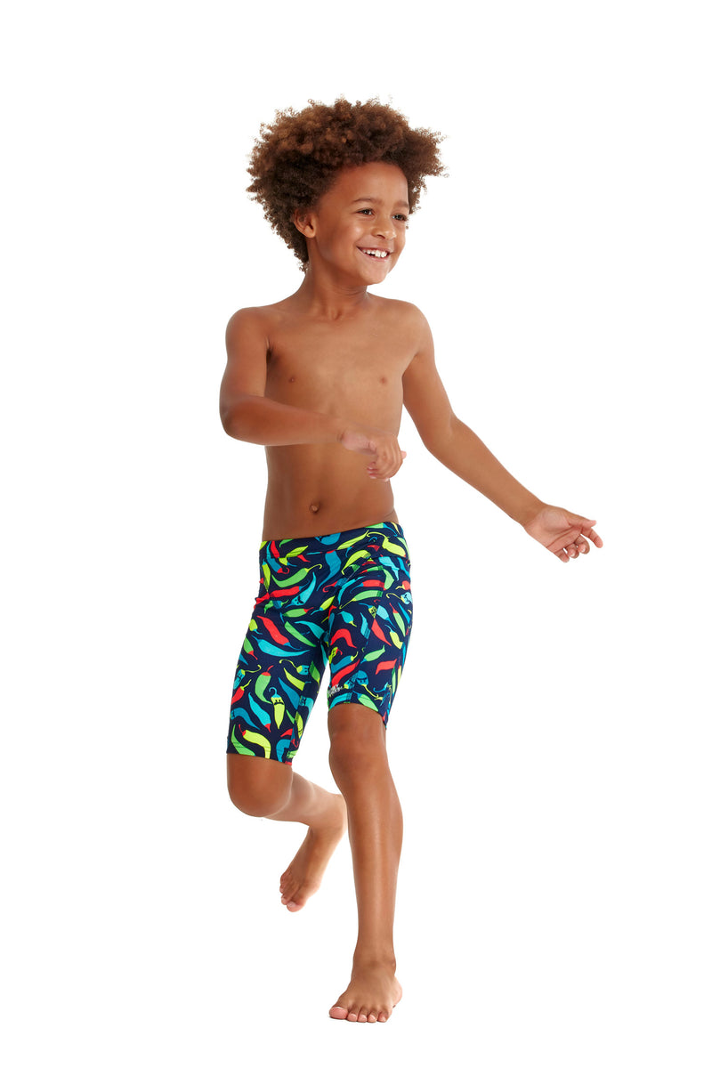 Toddler Boy's Eco Miniman Jammers Chilli Boss