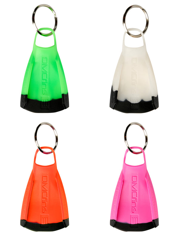 Mini Fin Key Chain - Set of 4
