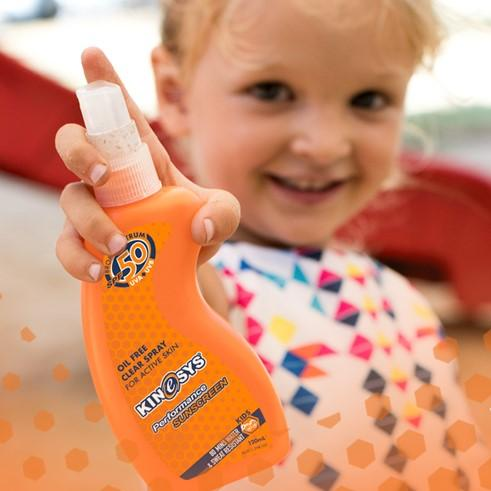 SPF 50 KIDS Fragrance Free Spray Sunscreen 120ml - CitySport
