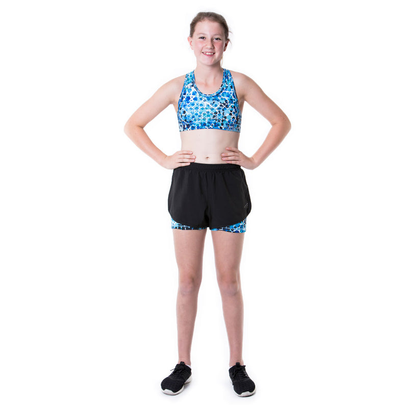 LOKA Athletica Sports Crop Top Ocean - CitySportOnline