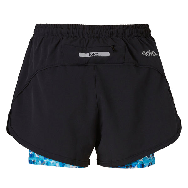 LOKA Athletica Running Short Ocean - CitySport