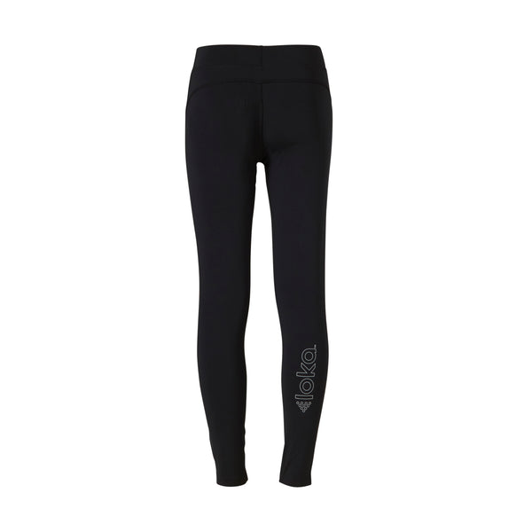 "LOKA Athletica ""Get Active"" Lux Tights Black - CitySportOnline"