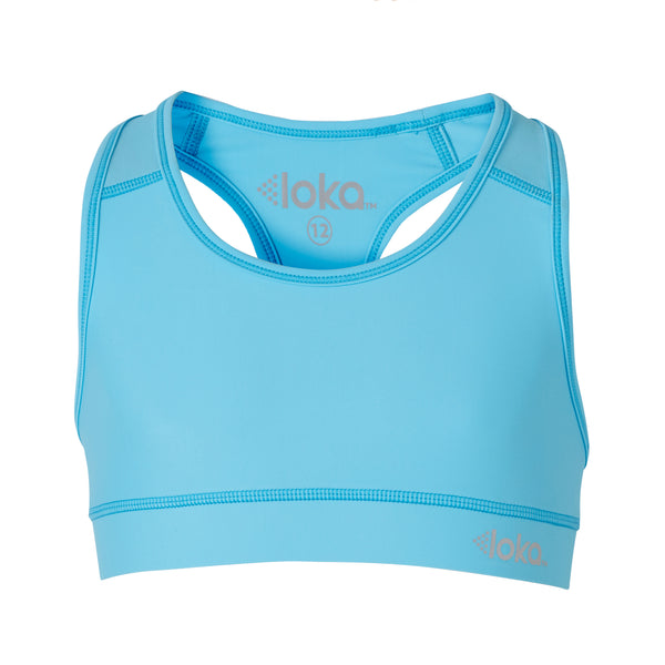 LOKA Athletica Crop Top Sky - CitySportOnline