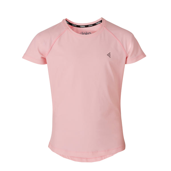 LOKA Athletica Performance Tee Blush - CitySportOnline