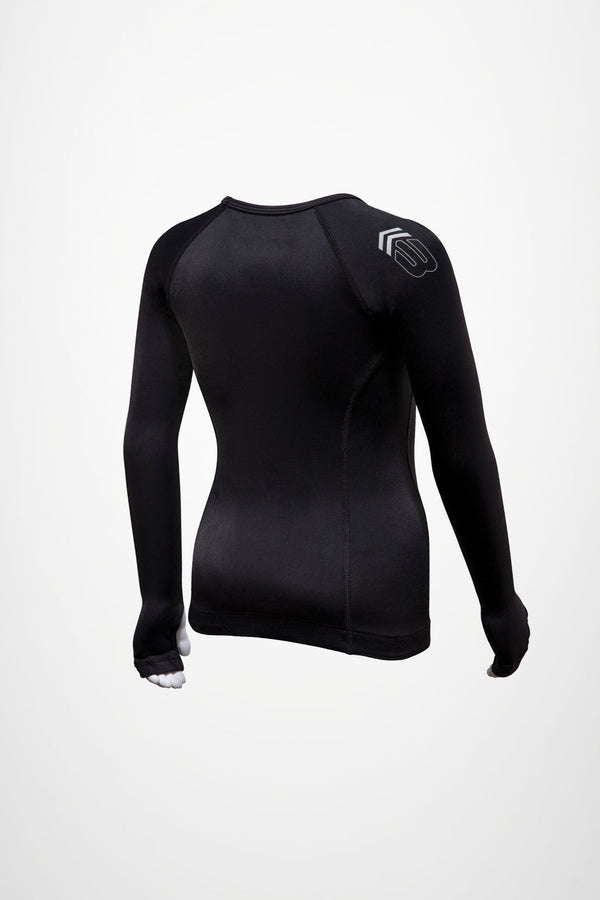 BASE TECH LS COMPRESSION TEE - YTH - CitySport