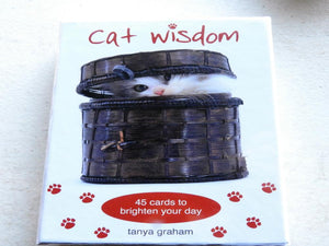 Affirmation Cards - Cat Wisdom