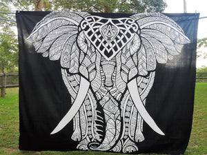 Black & White Elephant