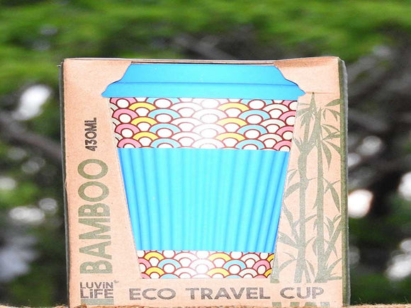 Eco Travel Mug - Cupcake Design