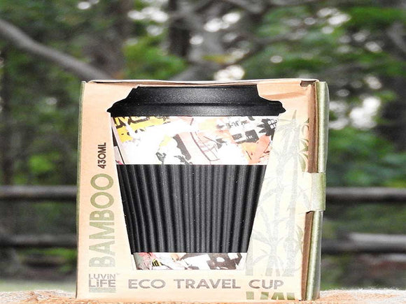 Eco Travel Mug - News Paper Design