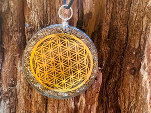 Orgonite Necklace - Flower of Life