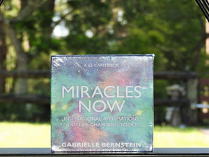 Affirmation Cards - Miracles Now