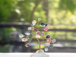Small Multi Crystal Tree