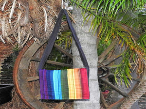 Flap Bag - Rainbow Stripe