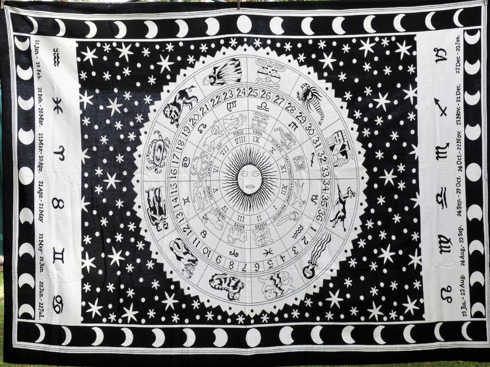 Black and White Zodiac