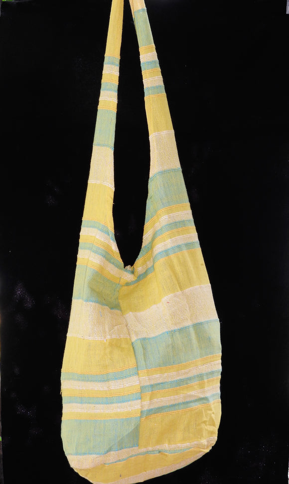 Sling Bag - Yellow/Mint