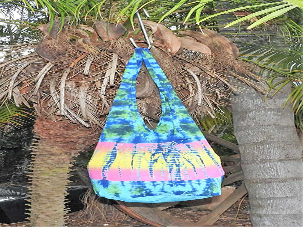 Tie Dyed Sling Bag