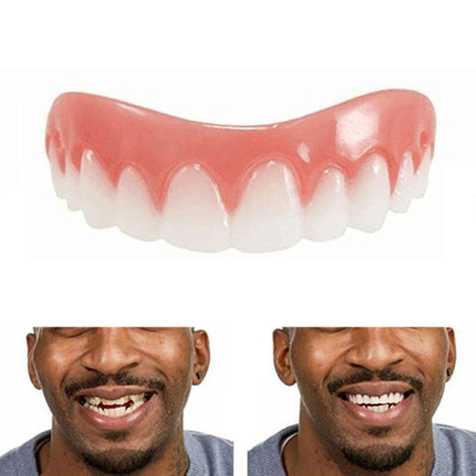Silicone Simulation Teeth Whitening Dentures Braces 1siteforall