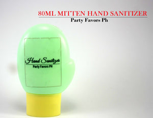 Hand sanitizer mittens 80ml