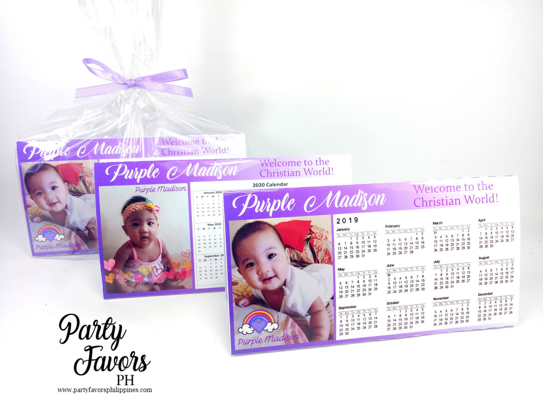 Desk calender (personalized)