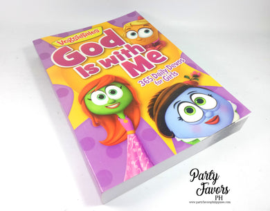 God is with me 365 daily devos for girls Veggietales
