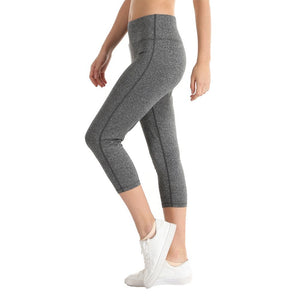 Light gray woman's boot cut Yoga Pants