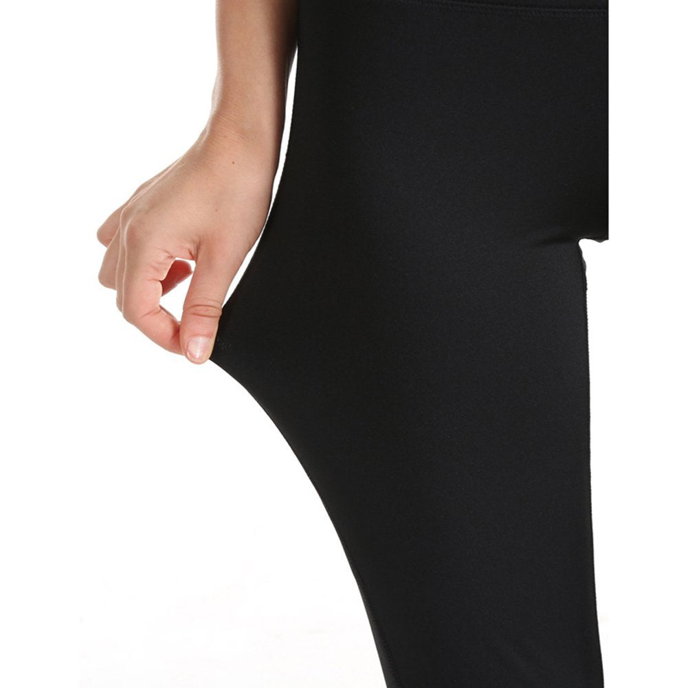 Women's Yoga Pants, High Waist Boot Cut Pants Workout Running Yoga Capris Ankle Leggings
