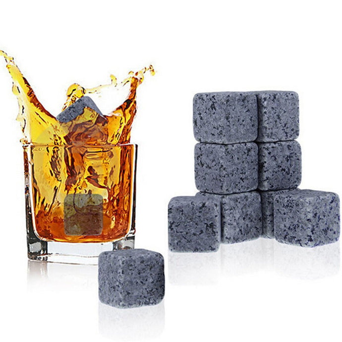 Whiskey Stones with Carrying Pouch