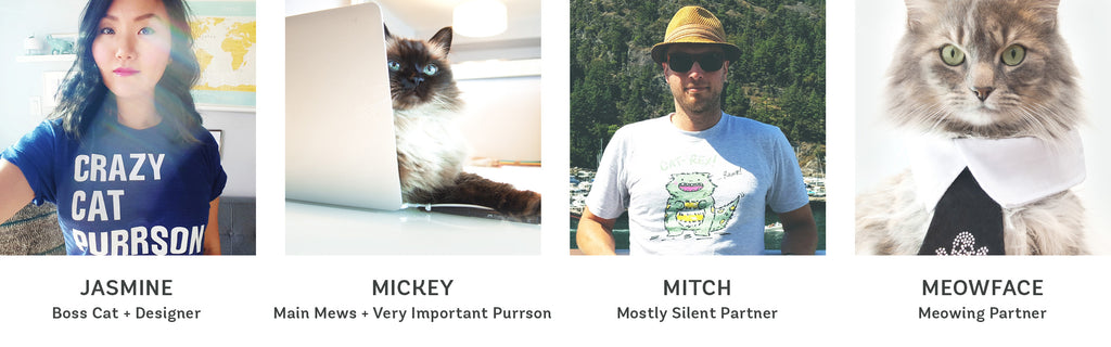 My Cat Is People - Meet our team!