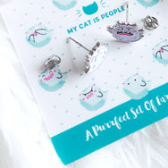 Kitty Boo Boo Buddies ~ Nickel-Free Earrings