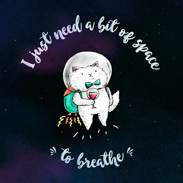 Space To Breathe - Card or Print