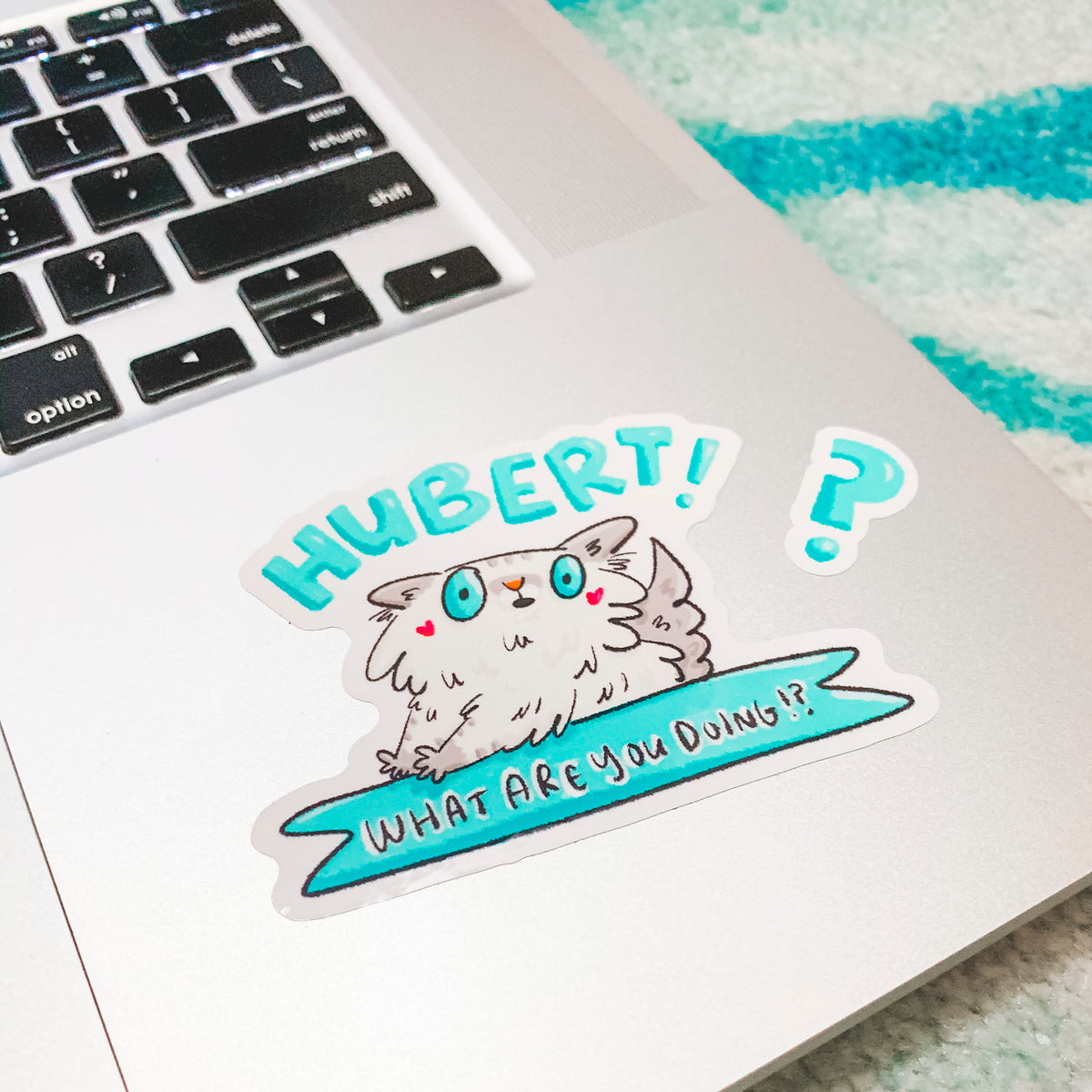 Hubert! What Are You Doing!? - Vinyl Sticker