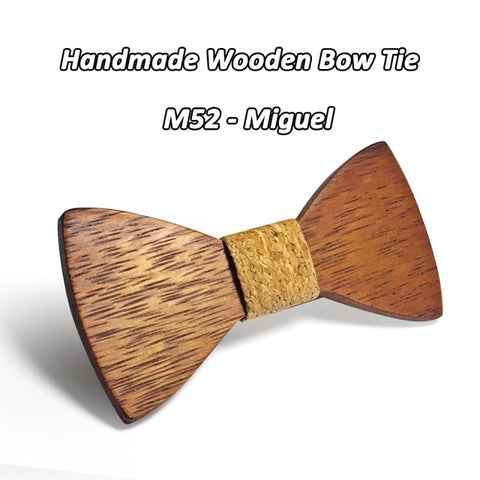 Stylish Wooden Bow Tie