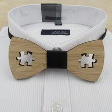 Casual Stylish Wooden Bow Tie
